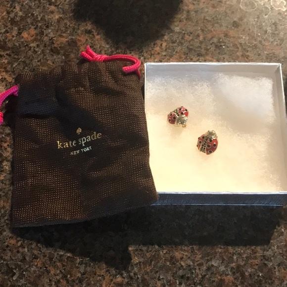 Kate Spade Ladybug Earrings